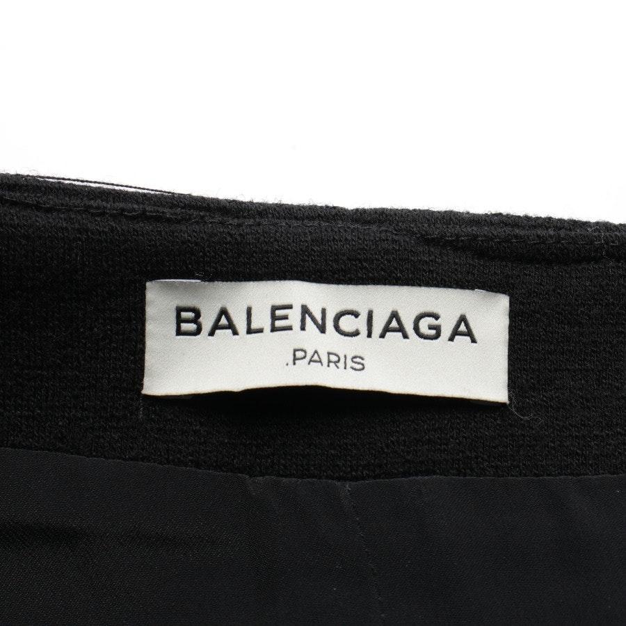 Wickelrock von Balenciaga in Schwarz Gr. 36 IT 42