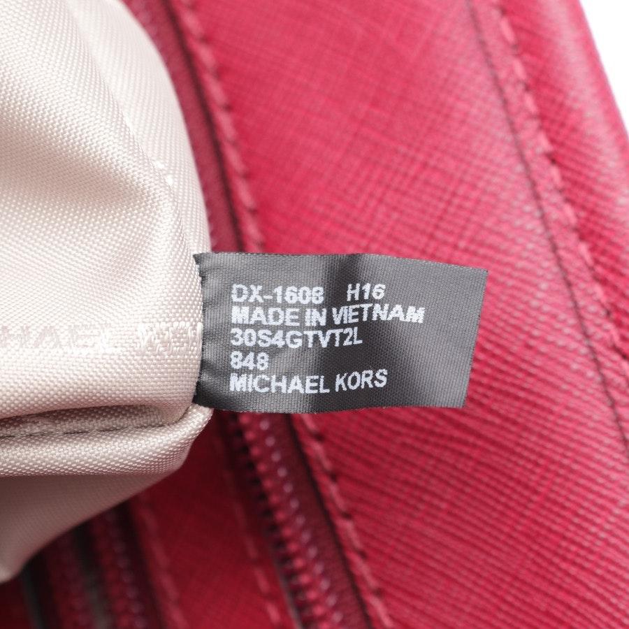 shopper from Michael Kors in red - jet set