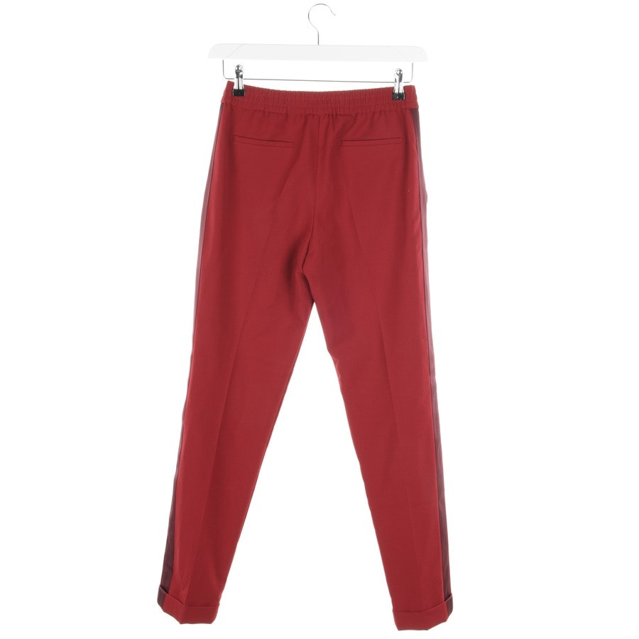 trousers from Hugo Boss Black Label in burgundy size 34