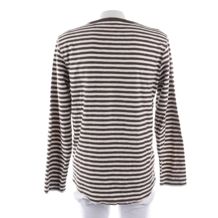 Sweatshirt von Closed in Braun und Weiß Gr. L