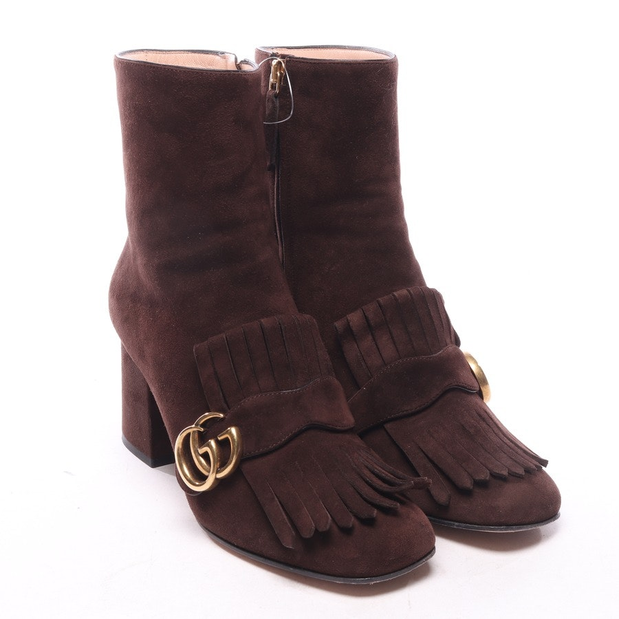 ankle boots from Gucci in brown size EUR 37,5