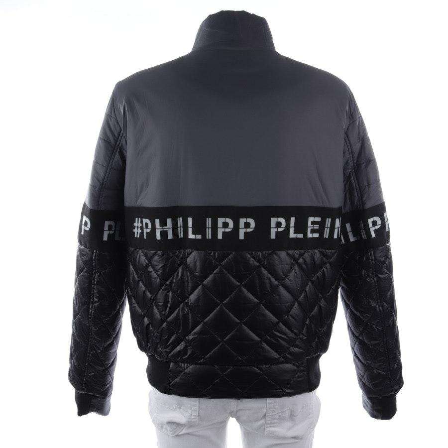 Übergangsjacke von Philipp Plein in Schwarz und Weiß Gr. 2XL
