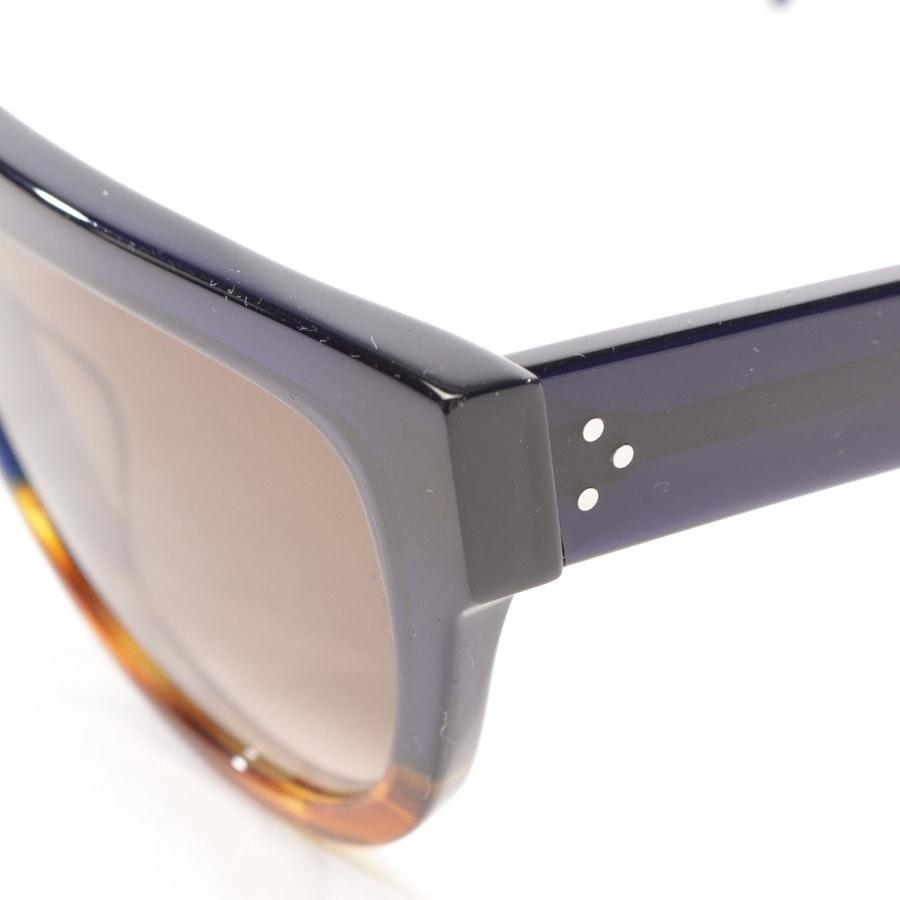 Sonnenbrille von Céline in Blau und Braun - CL41026/S