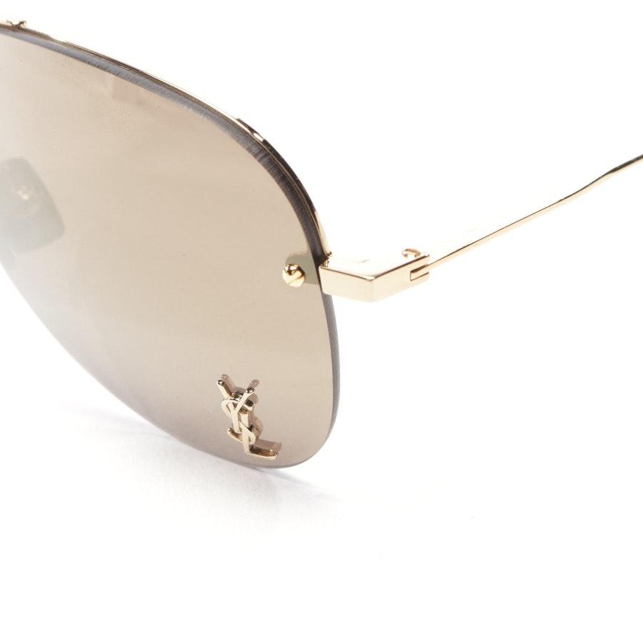 Sonnenbrille von Saint Laurent in Gold - Neu