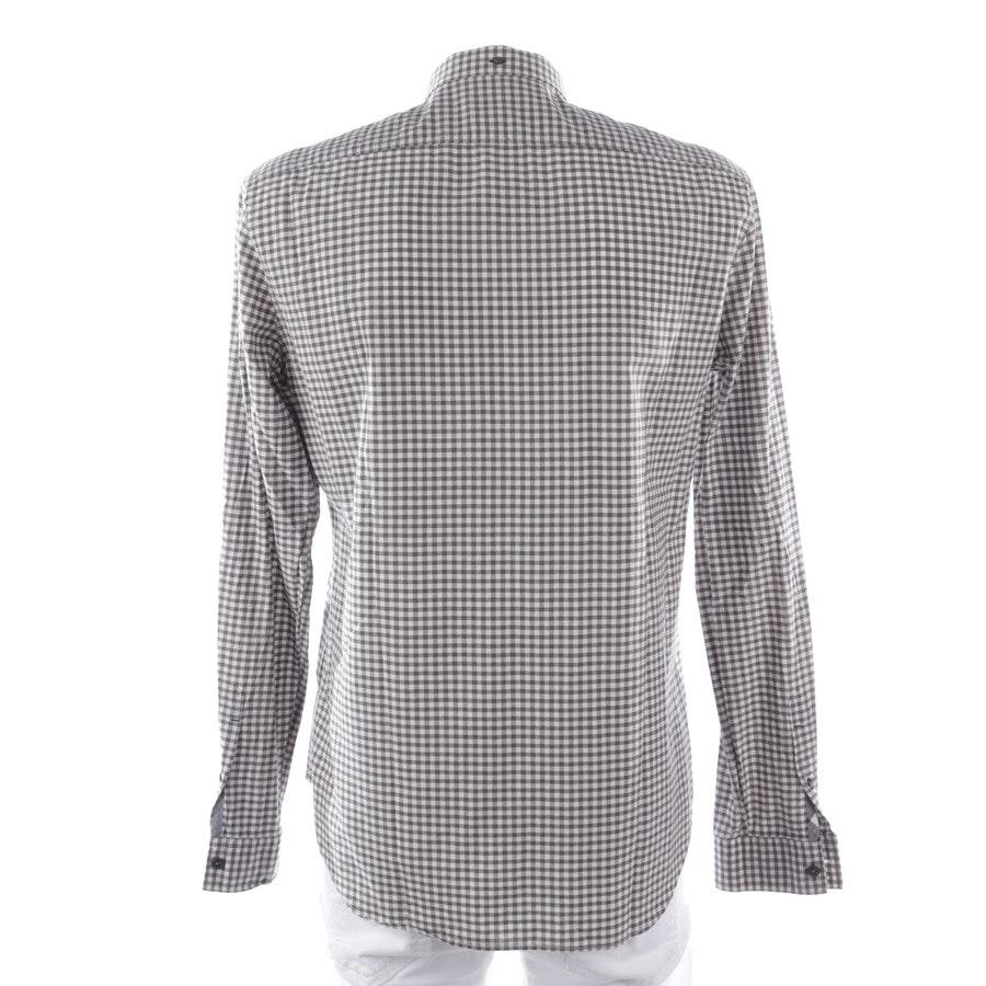 Freizeithemd von Burberry Brit in Grau und Weiß Gr. M