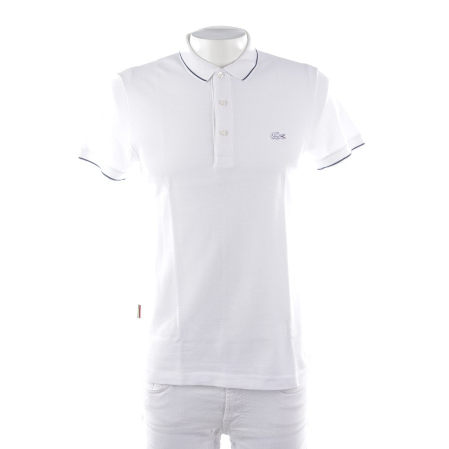 t-shirt from Lacoste in white and blue size S / 3