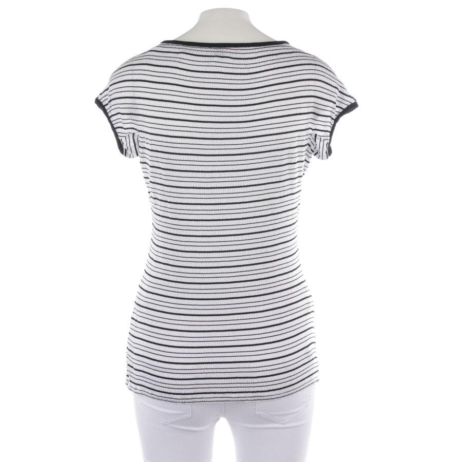 Shirt von Armani Collezioni in Weiß und Schwarz Gr. 36 IT 42