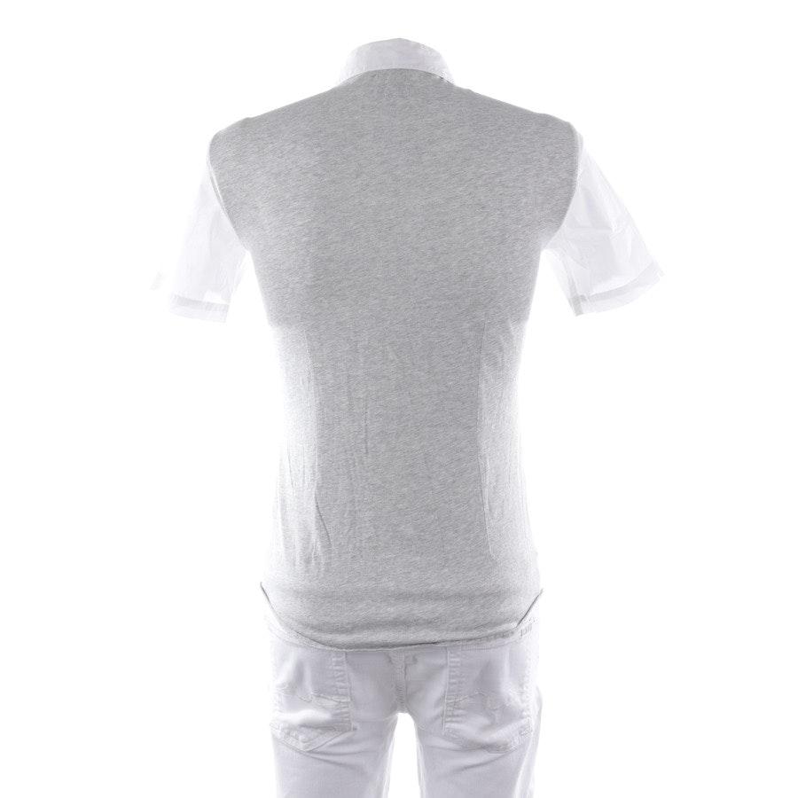 Freizeithemd von Armani Jeans in Weiß und Grau Gr. S