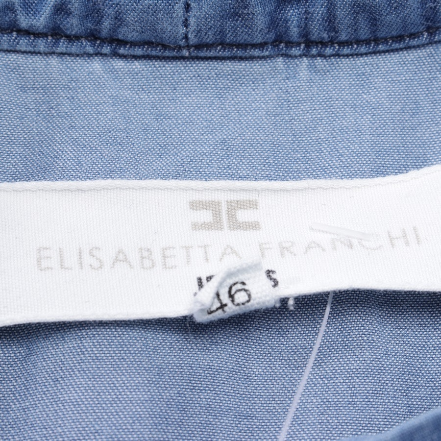 Jeanskleid von Elisabetta Franchi in Blau Gr. 40 IT 46