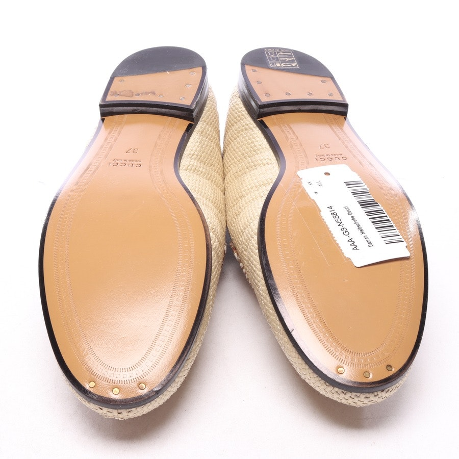 loafers from Gucci in beige size EUR 37 - new