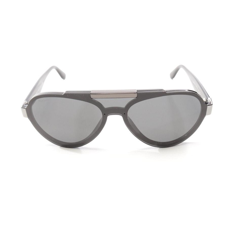 Sonnenbrille von Prada in Schwarz und Silber - SPR01U