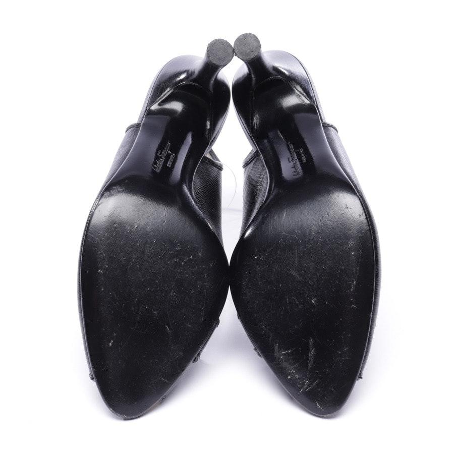 Slingbacks von Salvatore Ferragamo in Schwarz Gr. EUR 39,5 US 9