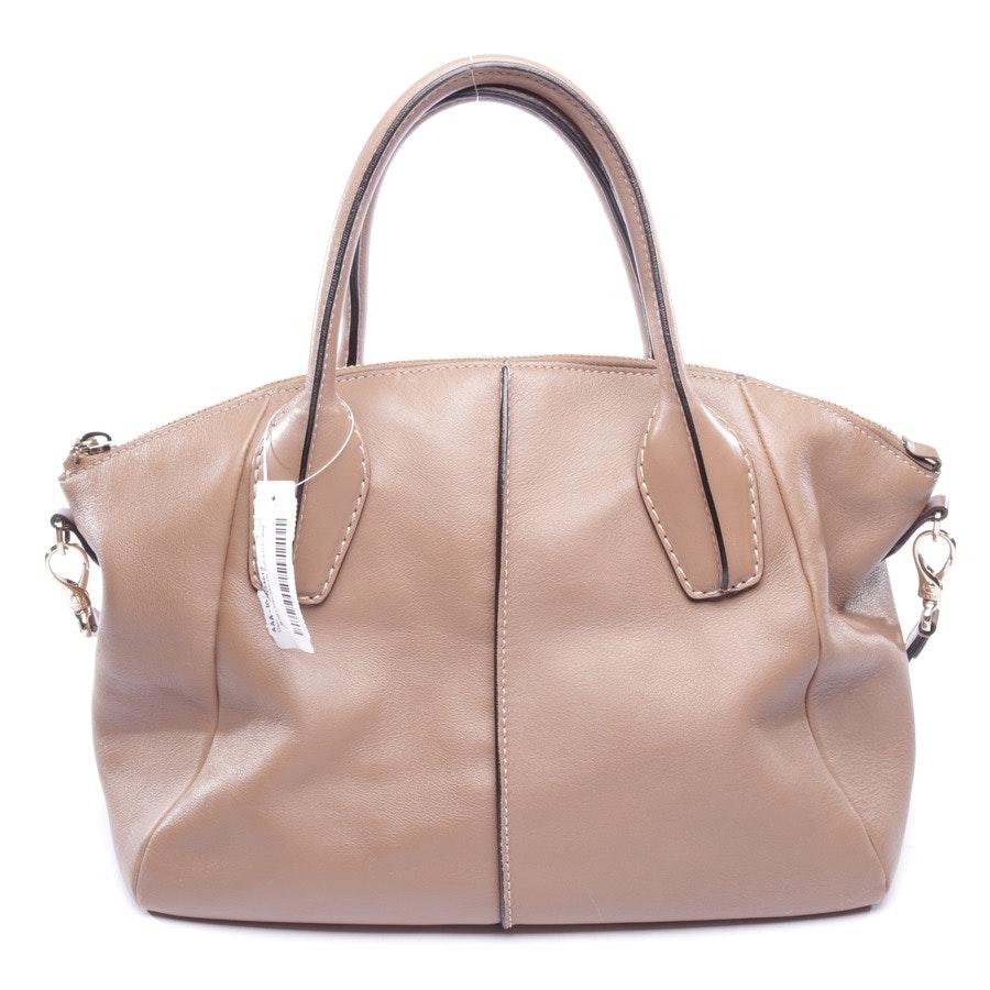 Handtasche von Tod´s in Taupe - D.D. Bag
