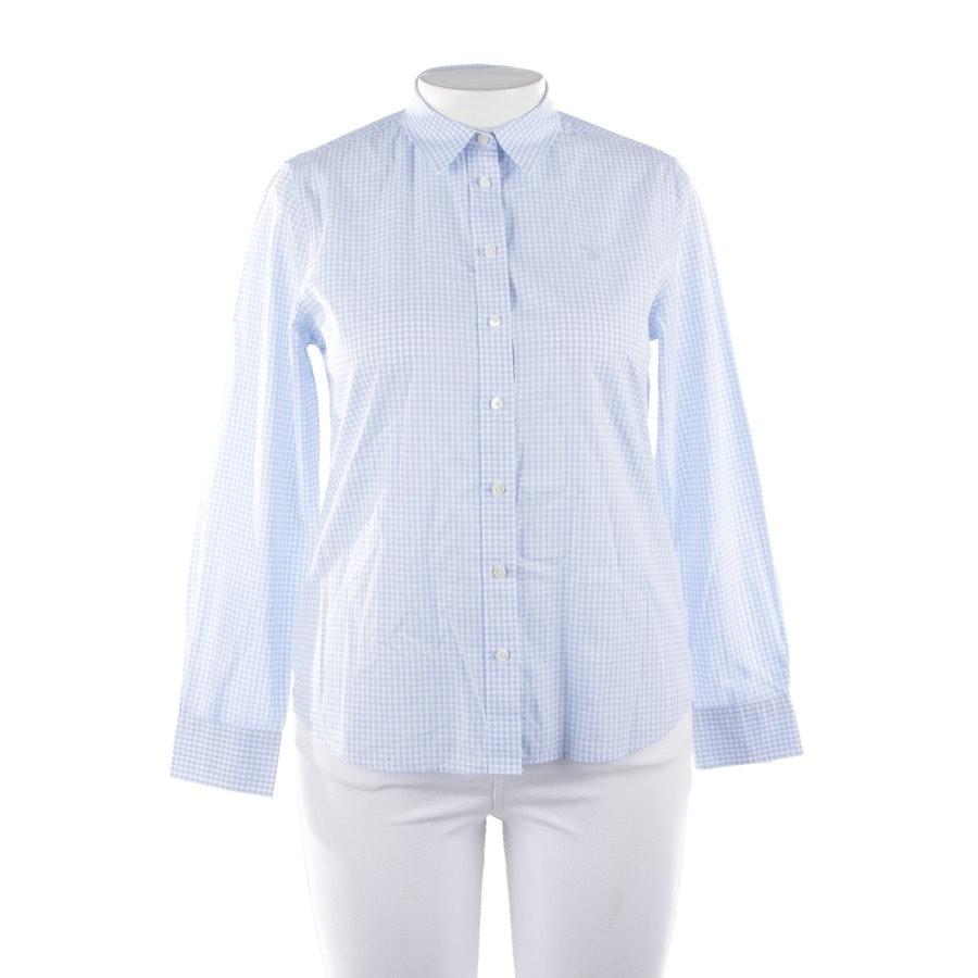 Bluse von Gant in Blau und Weiß Gr. 40