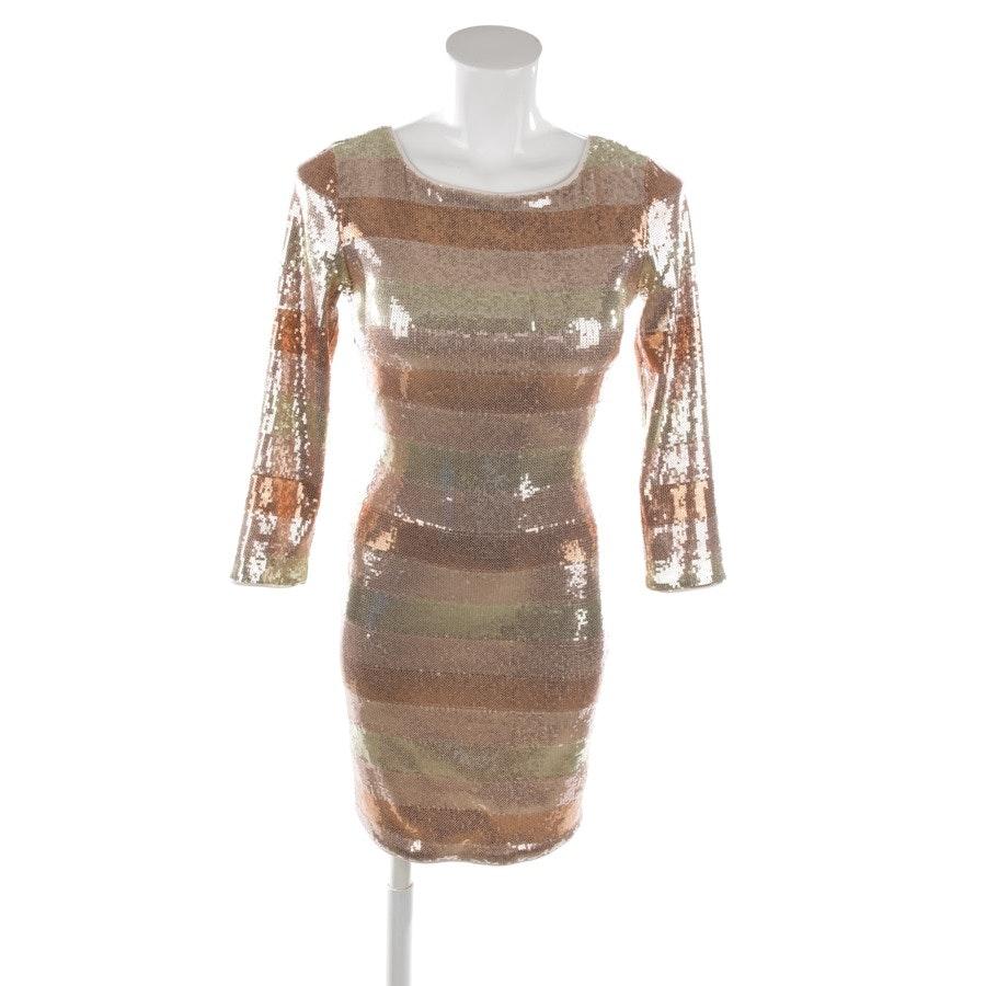 Paillettenkleid von Patrizia Pepe in Bronze und Gold Gr. 32 / 0