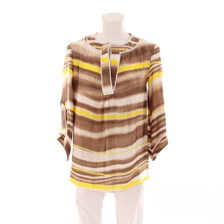 shirts from Schumacher in brown and yellow size S