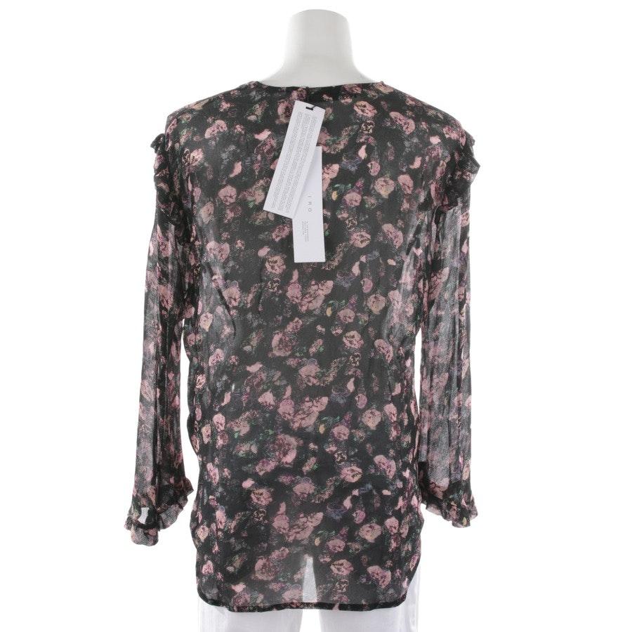 Bluse von Iro in Schwarz und Multicolor Gr. 36 FR 38 - Neu