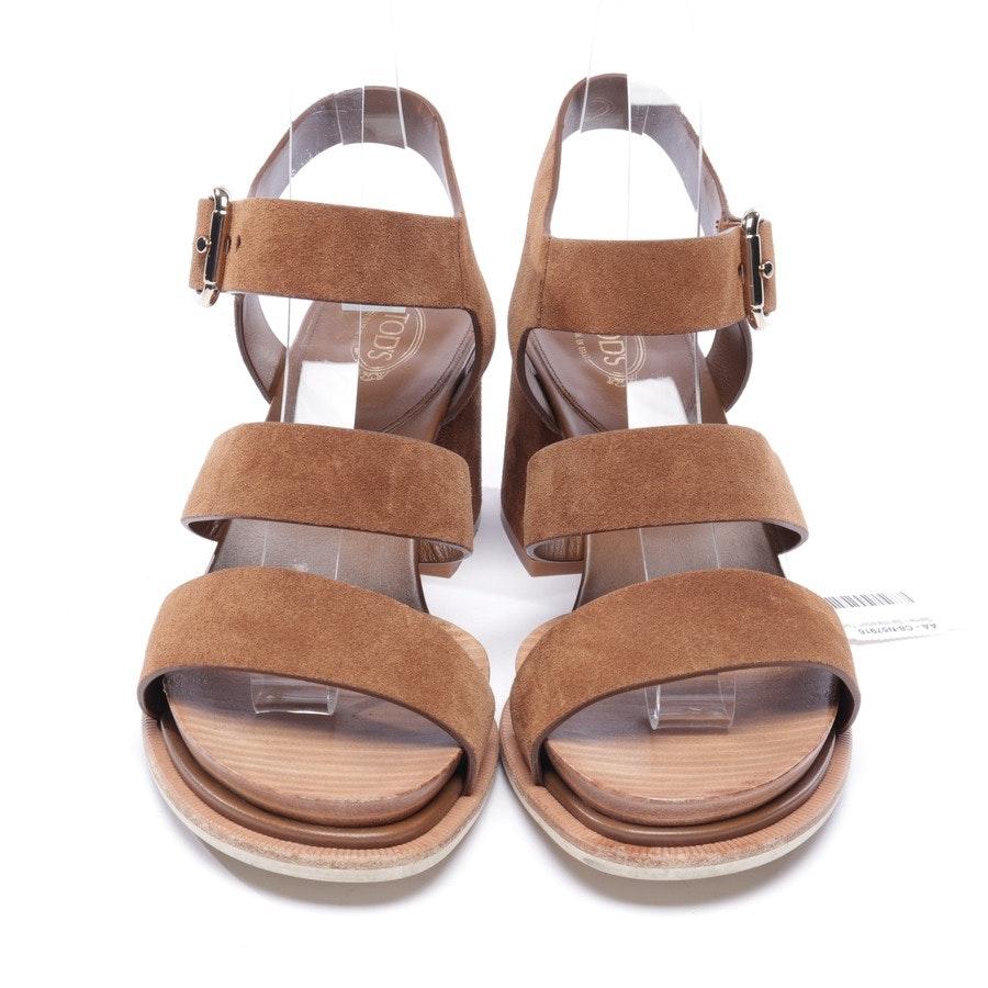 Sandaletten von Tod´s in Braun Gr. EUR 39