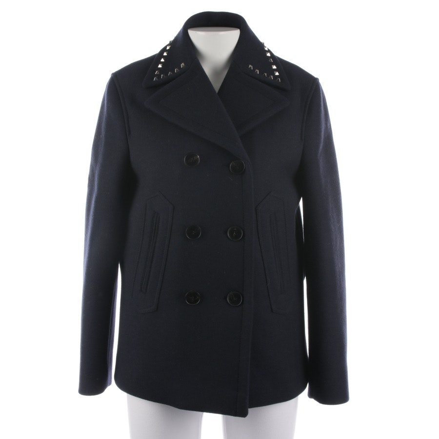 between-seasons jackets from Valentino in dark blue size 34 IT 40