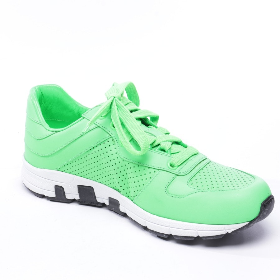 trainers from Gucci in neon green and white size EUR 37