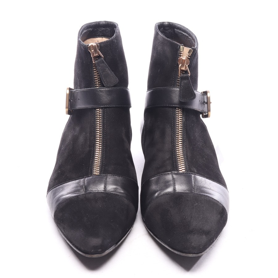 ankle boots from Chanel in black size EUR 39