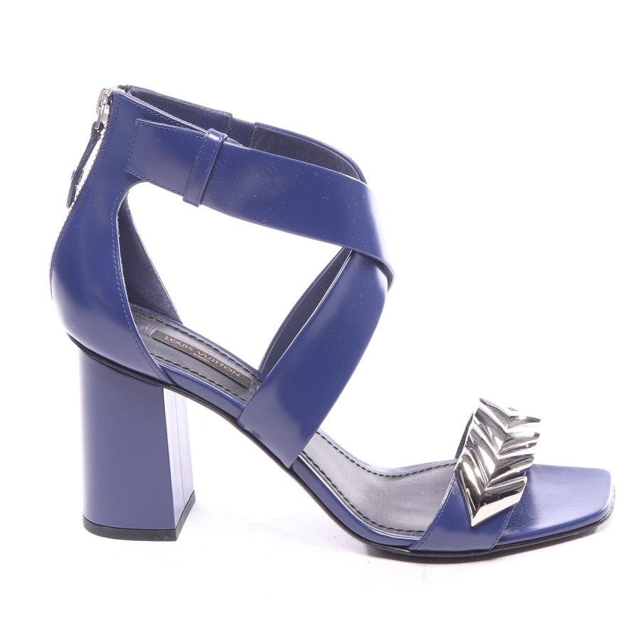 Sandaletten von Louis Vuitton in Blau Gr. EUR 38