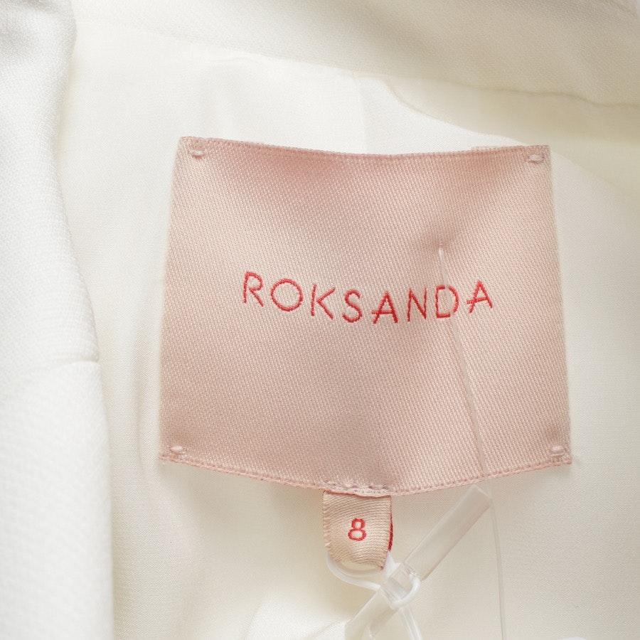 Blazer von Roksanda in Weiß Gr. 34 UK 8 - Neu