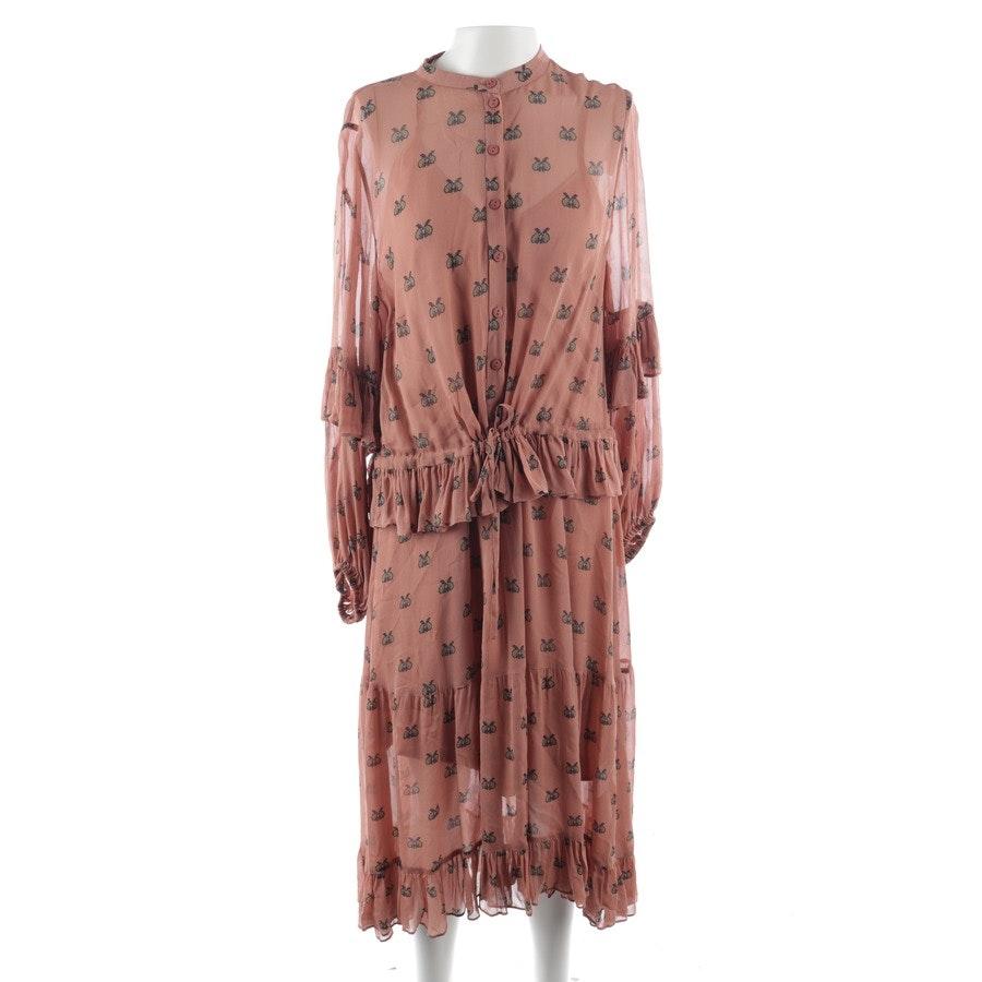 Kleid von Munthe in Rosenholz und Braun Gr. 36 - Neu