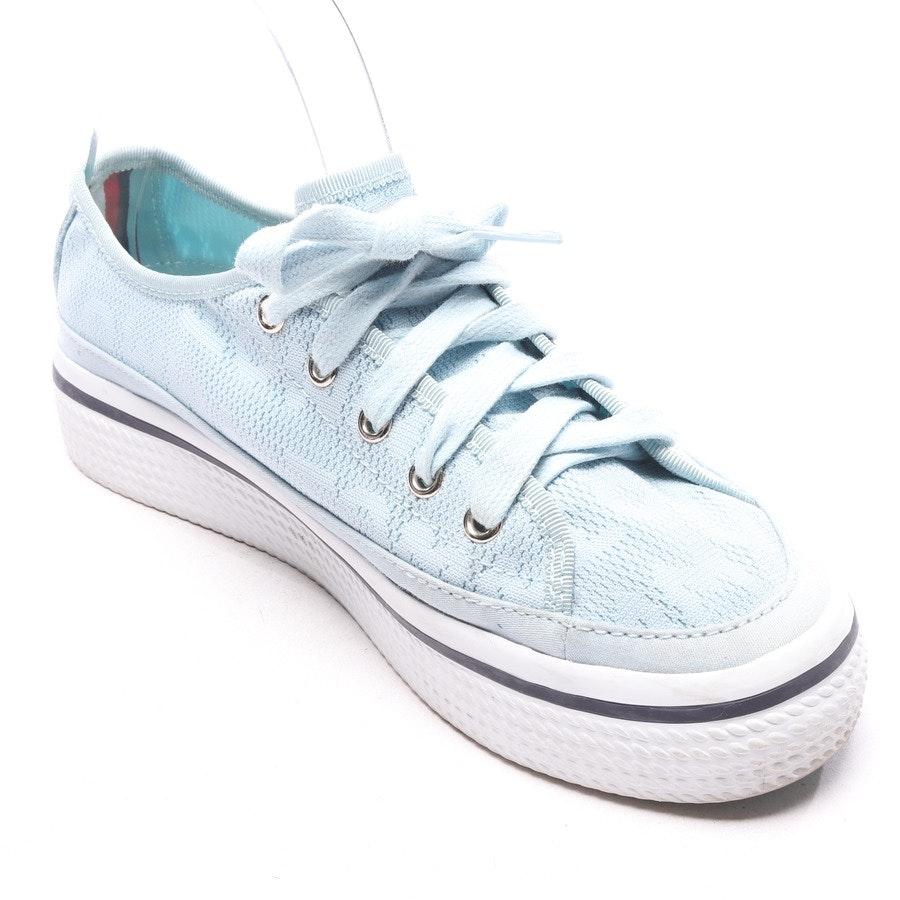 Turnschuhe / Sneaker von Tommy Hilfiger in Hellblau und Weiß Gr. EUR 37