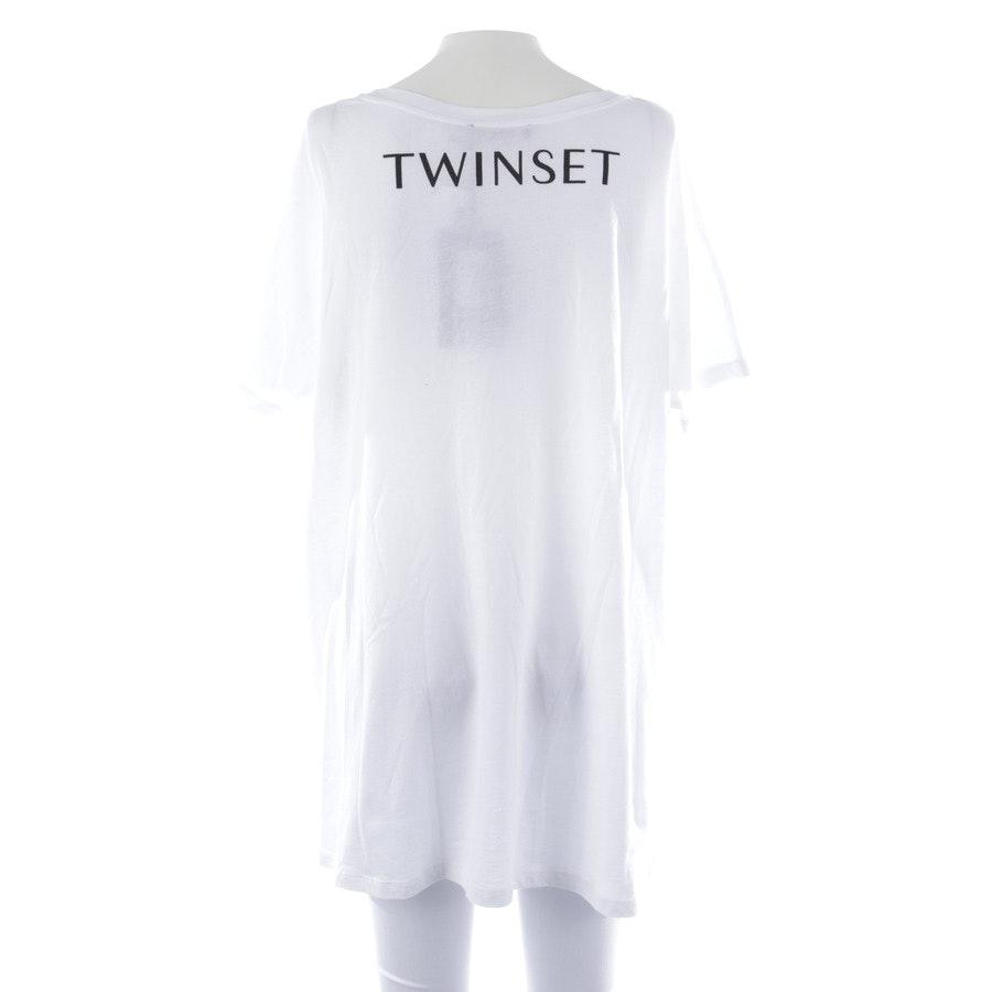 Oversize Shirt von Twin Set in Weiß und Schwarz Gr. XS