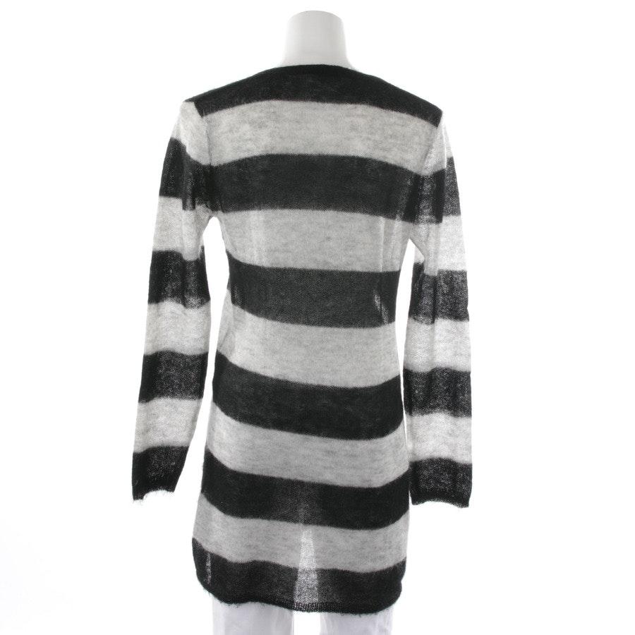 Pullover von Bloom in Grau und Schwarz Gr. 38
