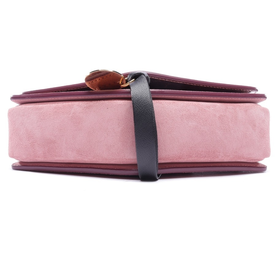 shoulder bag from Jimmy Choo in pink - new - arrow