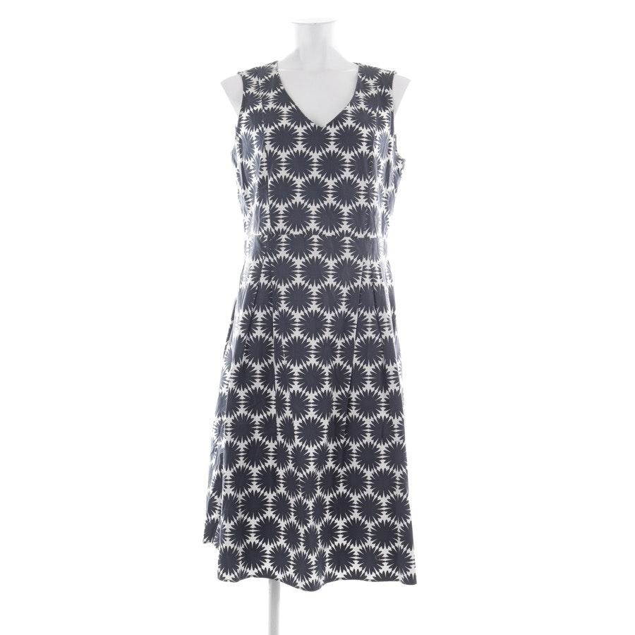 Sommerkleid von Marc O'Polo in Grau und Weiß Gr. 40
