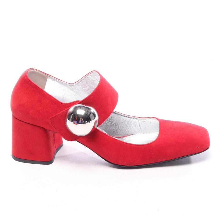 Mary Janes von Prada in Rot Gr. EUR 37,5