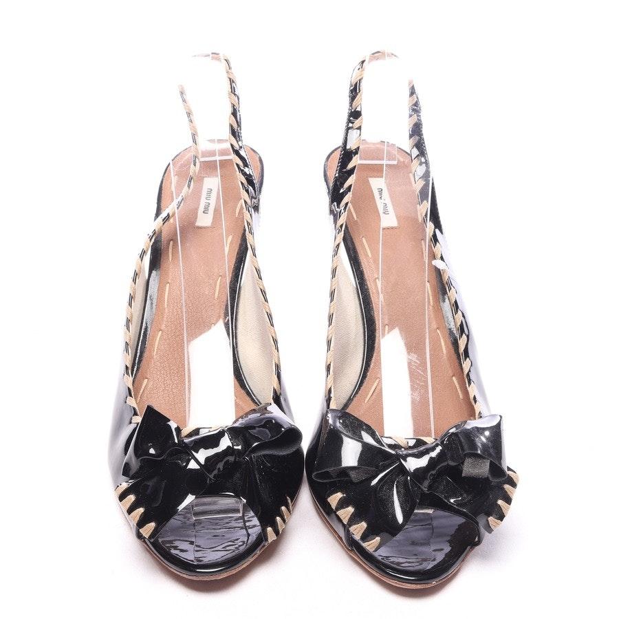 heeled sandals from Miu Miu in black size EUR 41