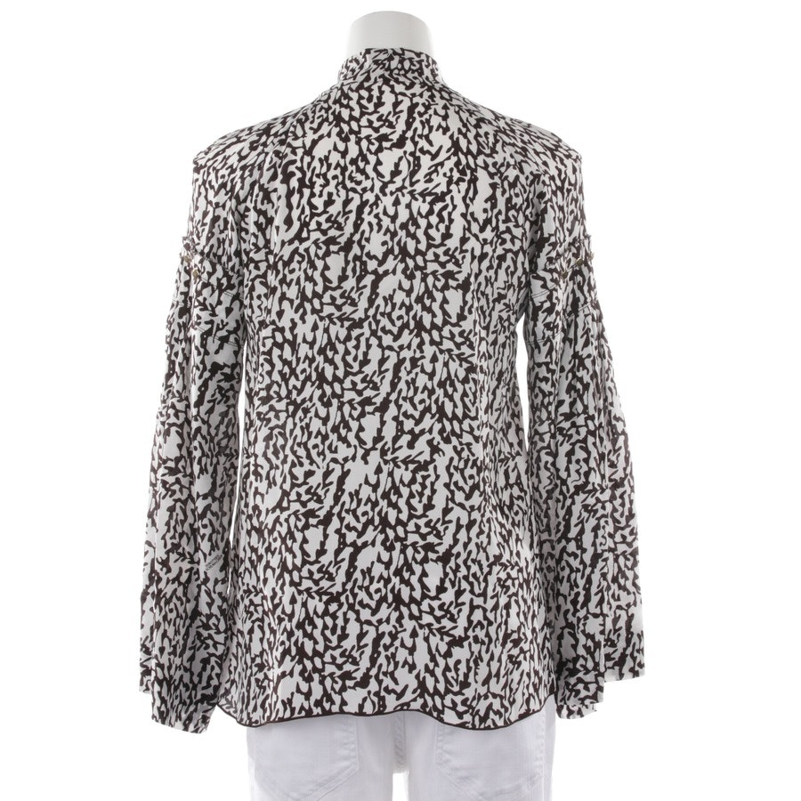 blouses & tunics from Dorothee Schumacher in black-brown and white size 34 / 1