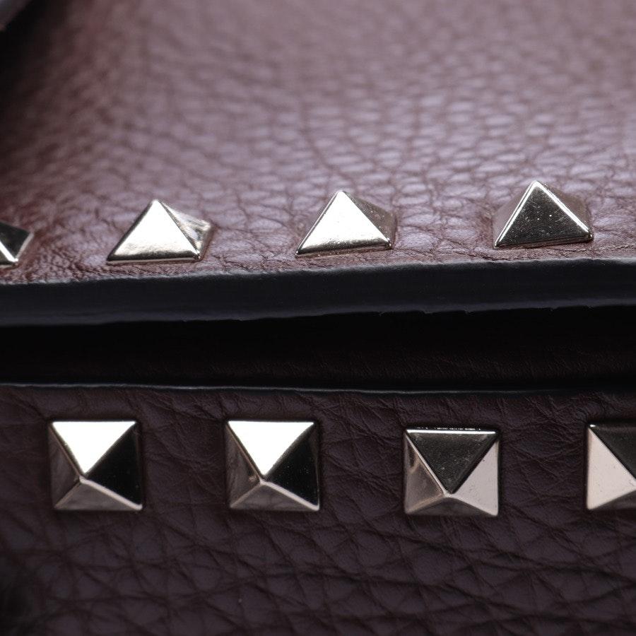 shoulder bag from Valentino in brown - rockstud