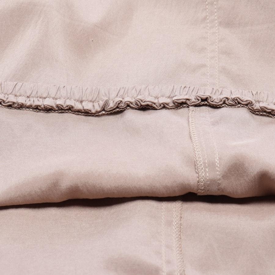 Kleid von Brunello Cucinelli in Beigebraun und Weiß Gr. M