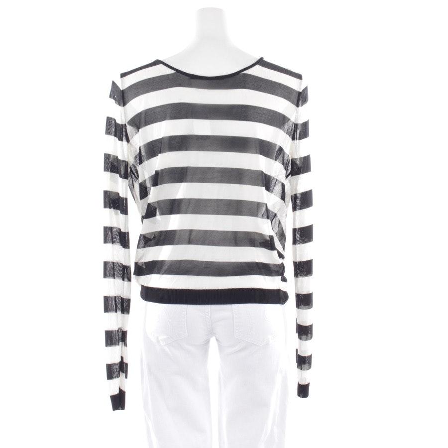Pullover von Ermanno Scervino in Schwarz und Weiß Gr. 36 IT 42
