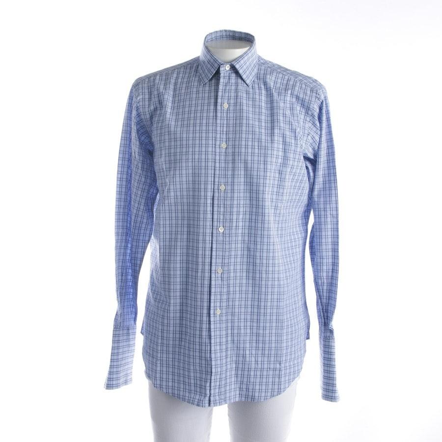 Freizeithemd von Polo Ralph Lauren in Blau und Weiß Gr. M