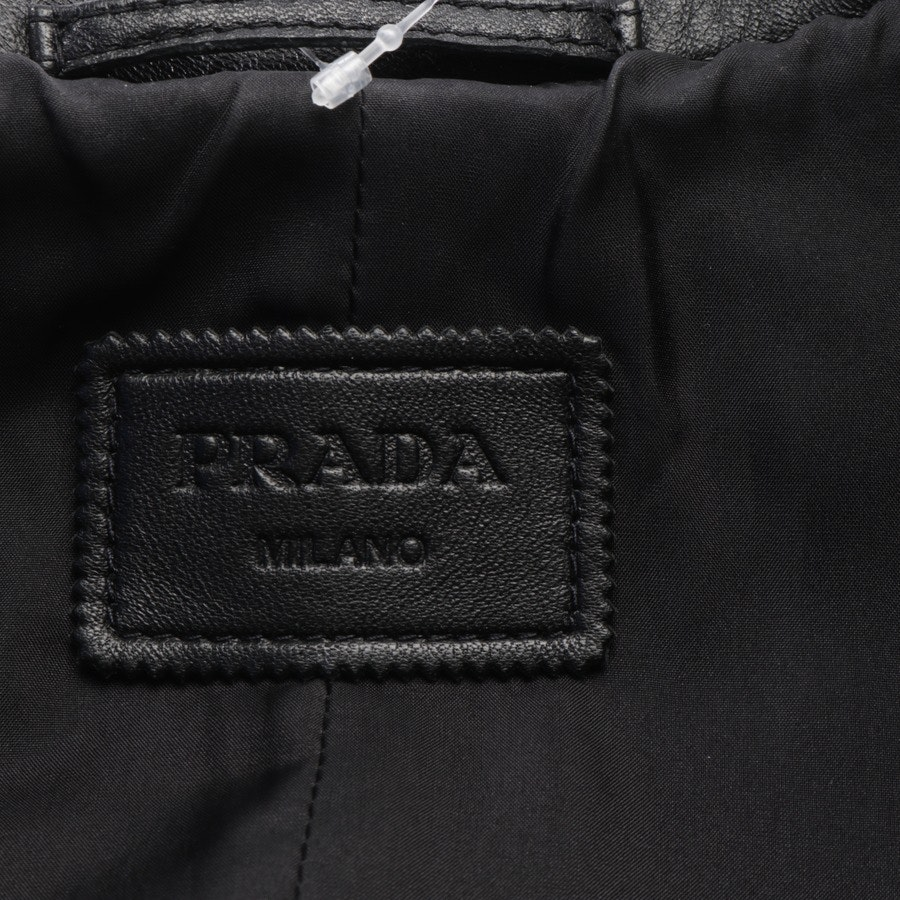 leather jacket from Prada in black size 32 IT 38