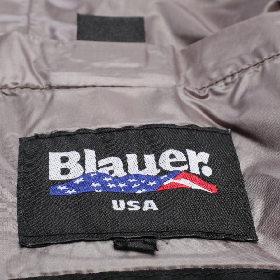Winterjacke von Blauer USA in Taupe und Schwarz Gr. 40 US 10