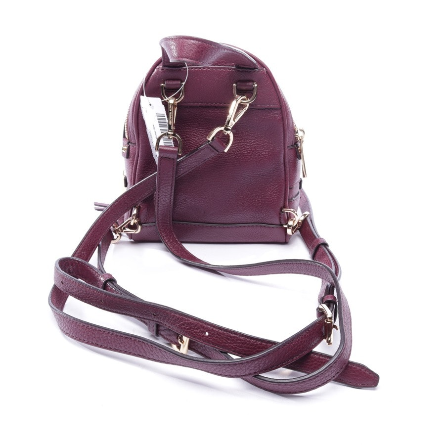 backpack from Michael Kors in plum