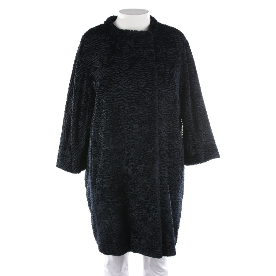 winter coat from Max Mara in night blue size 40