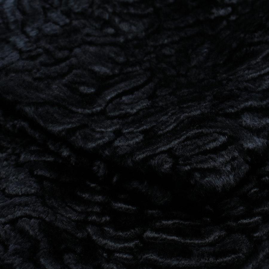 Kunstfellmantel von Max Mara in Nachtblau Gr. 40