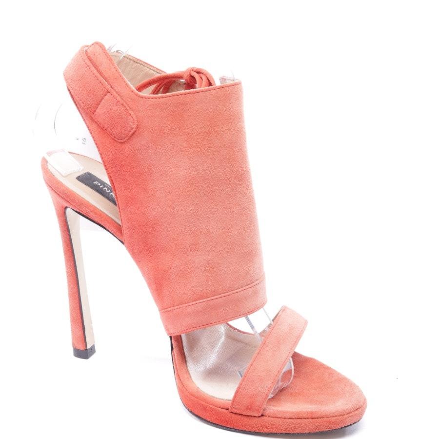 Sandaletten von Pinko in Korallenrot Gr. EUR 40