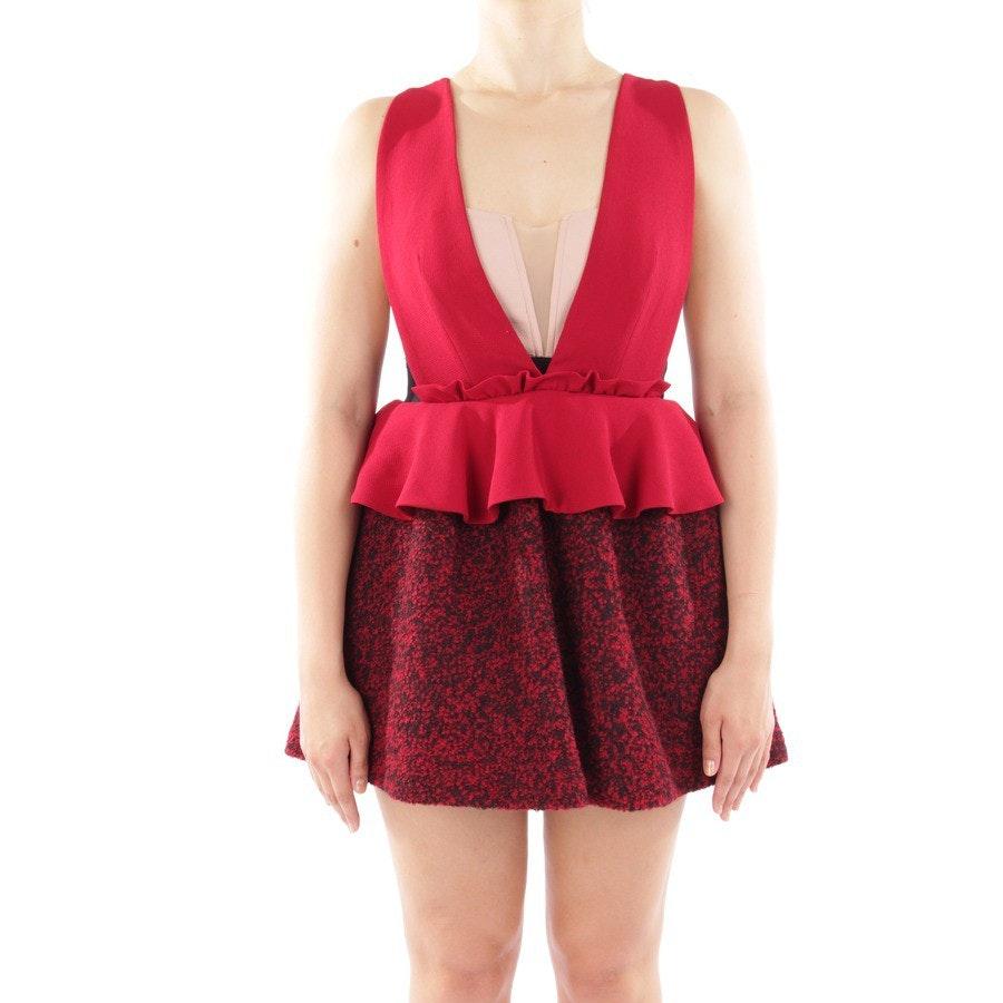 Kleid von Three Floor in Weinrot, Altrosa und Schwarz Gr. DE 40 US 10