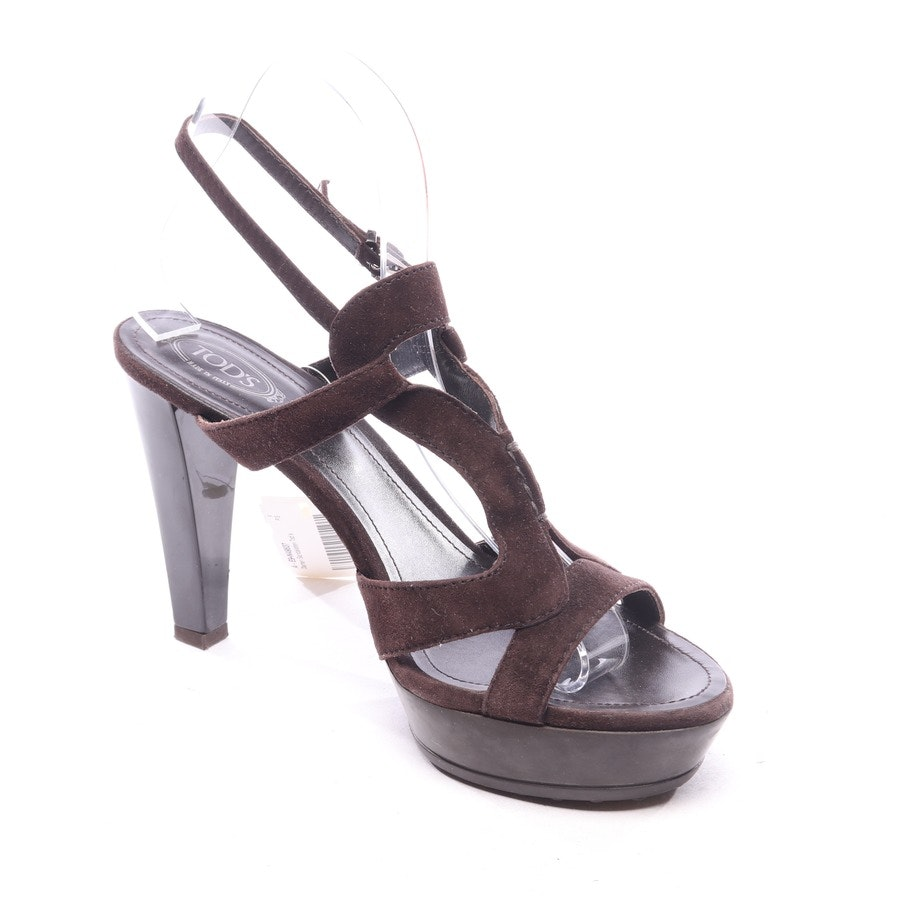 heeled sandals from Tod´s in brown size EUR 38,5