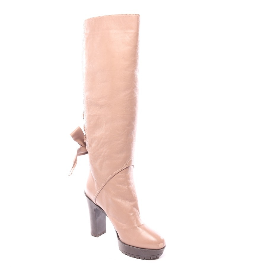 boots from Valentino in beige size EUR 39