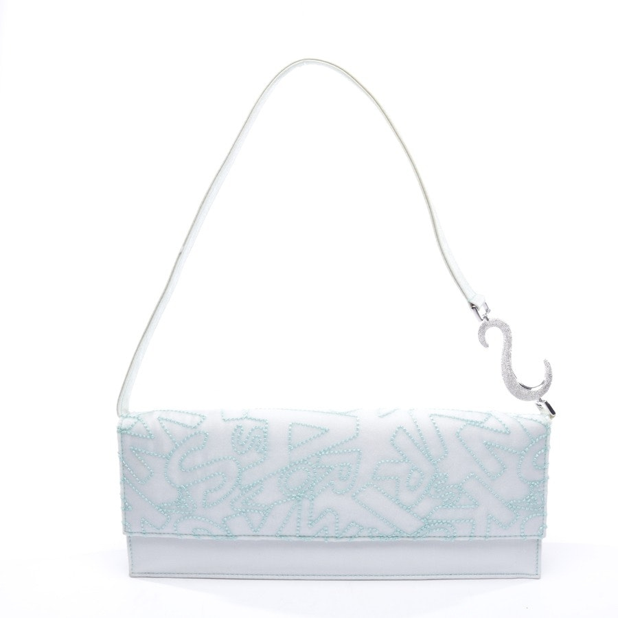 non-leather bags from Swarovski in blue
